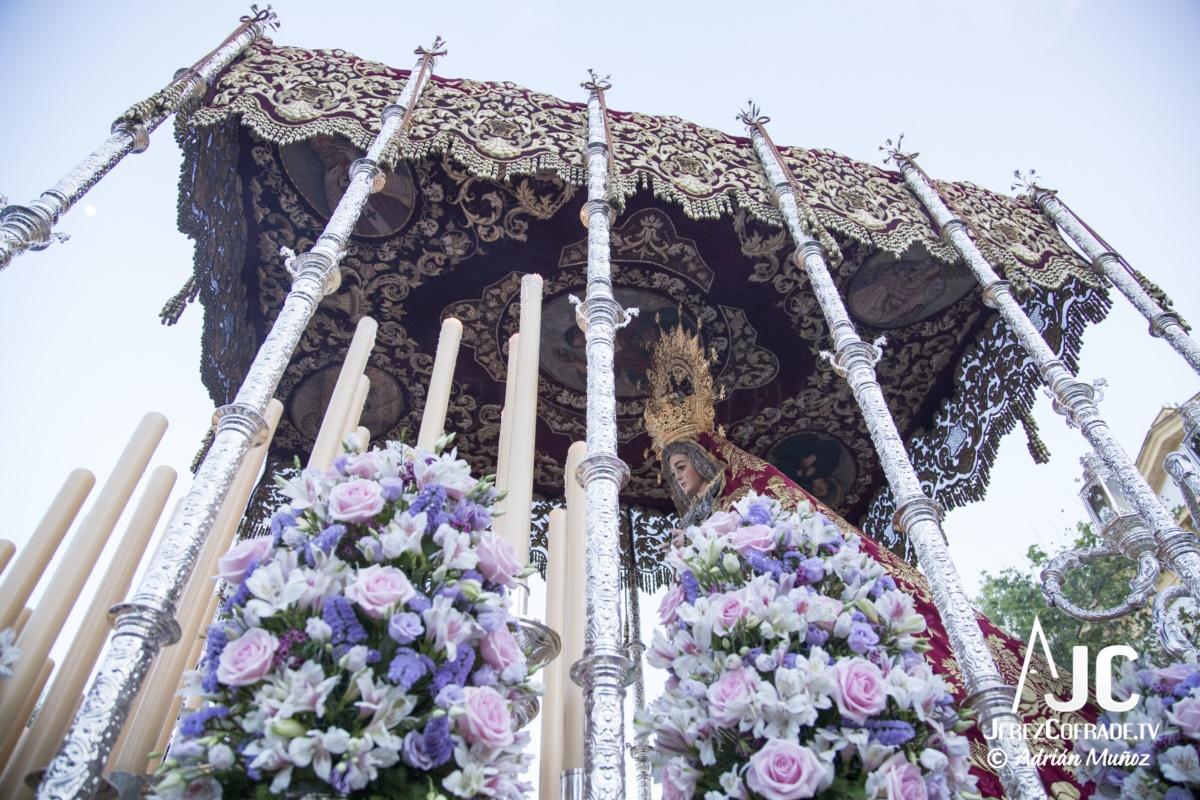 Nuestra Sra. del Socorro – Lunes Santo Jerez 2019 (9)