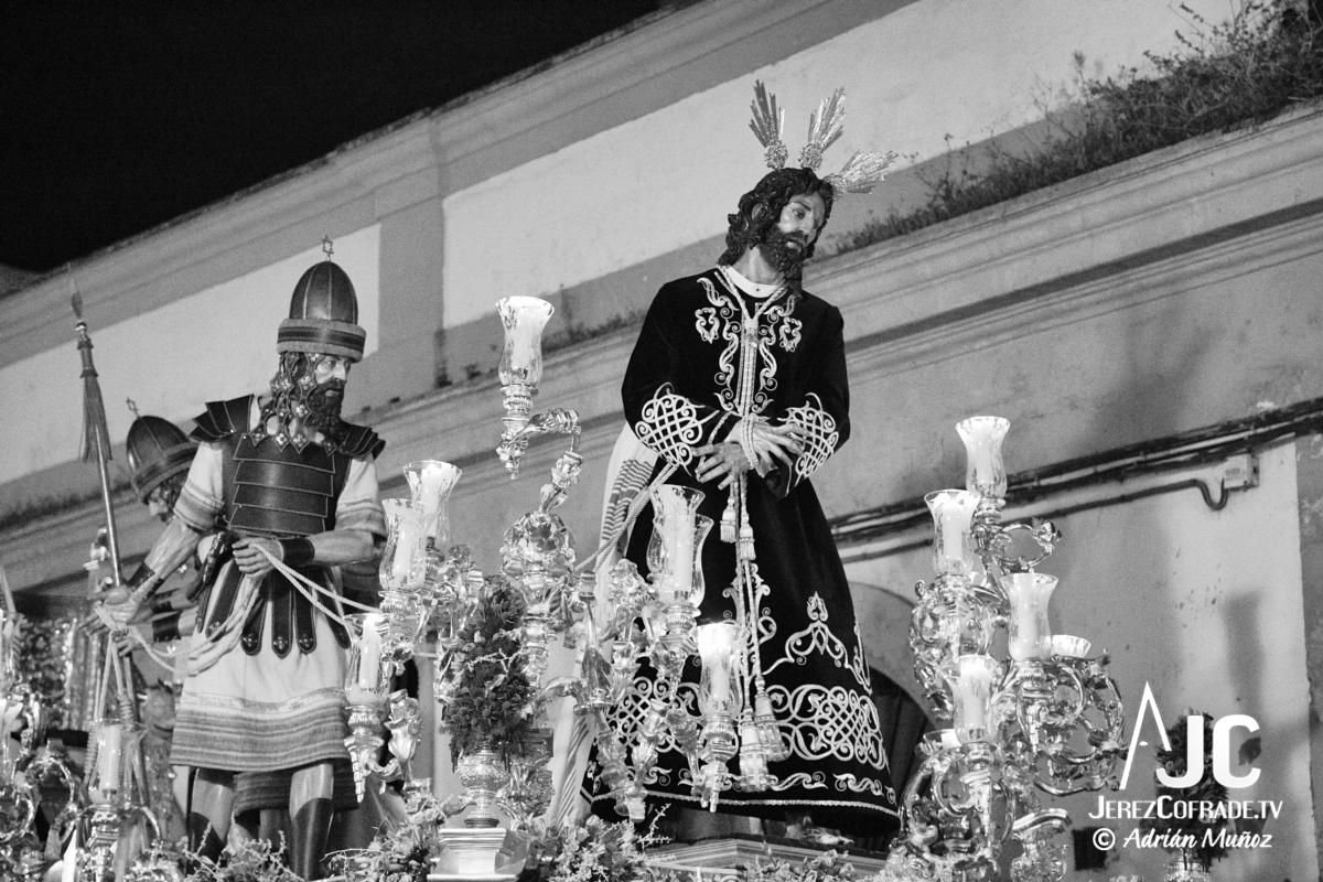 Cristo del Amaparo Consuelo del Peliron – Miercoles Santo Jerez 2019 (10)