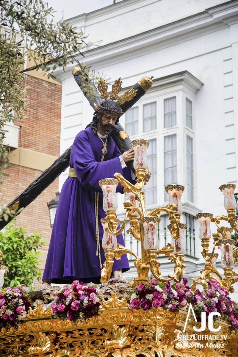 Cristo del Amaparo Consuelo del Peliron – Miercoles Santo Jerez 2019 (2)