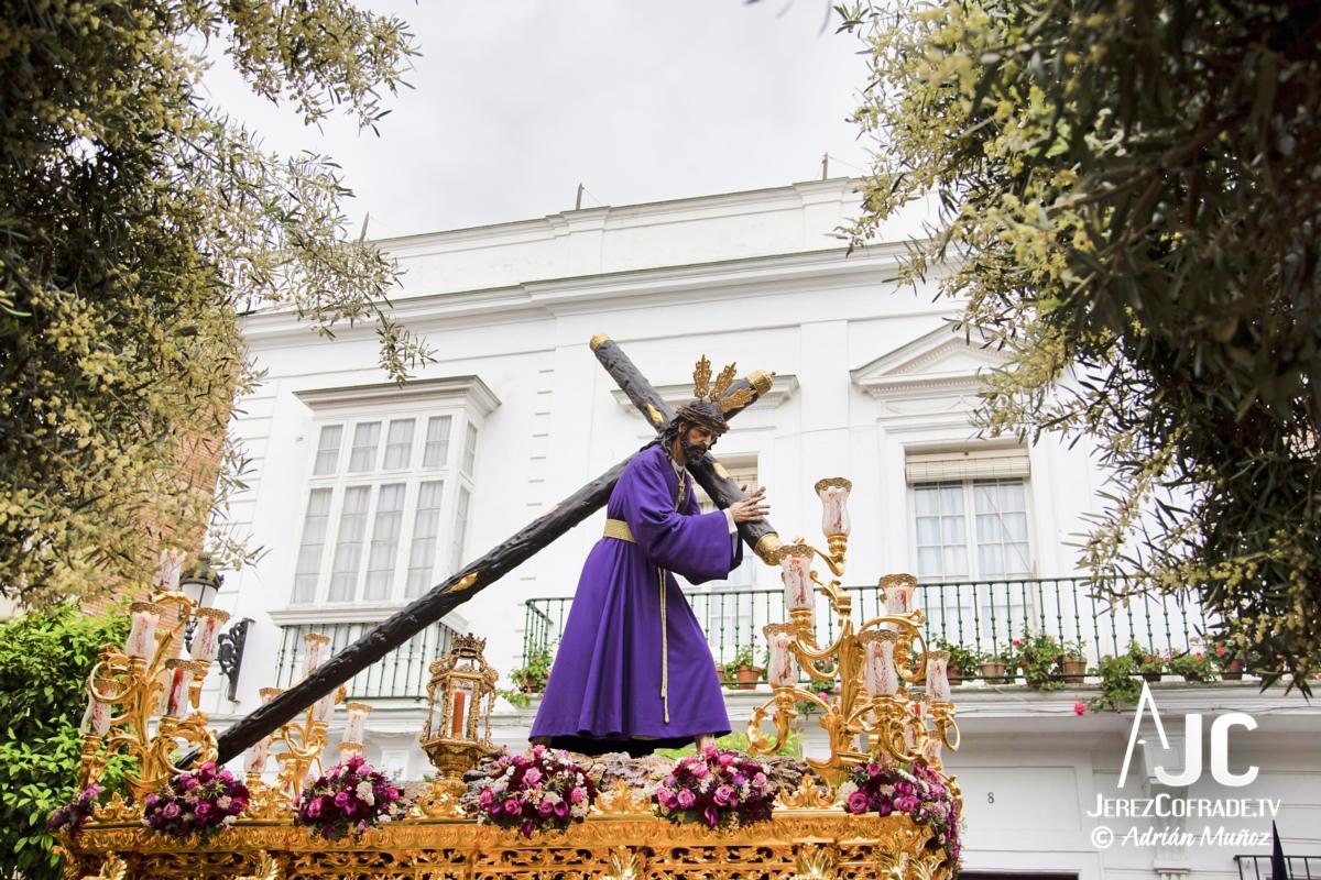 Cristo del Amaparo Consuelo del Peliron – Miercoles Santo Jerez 2019 (3)