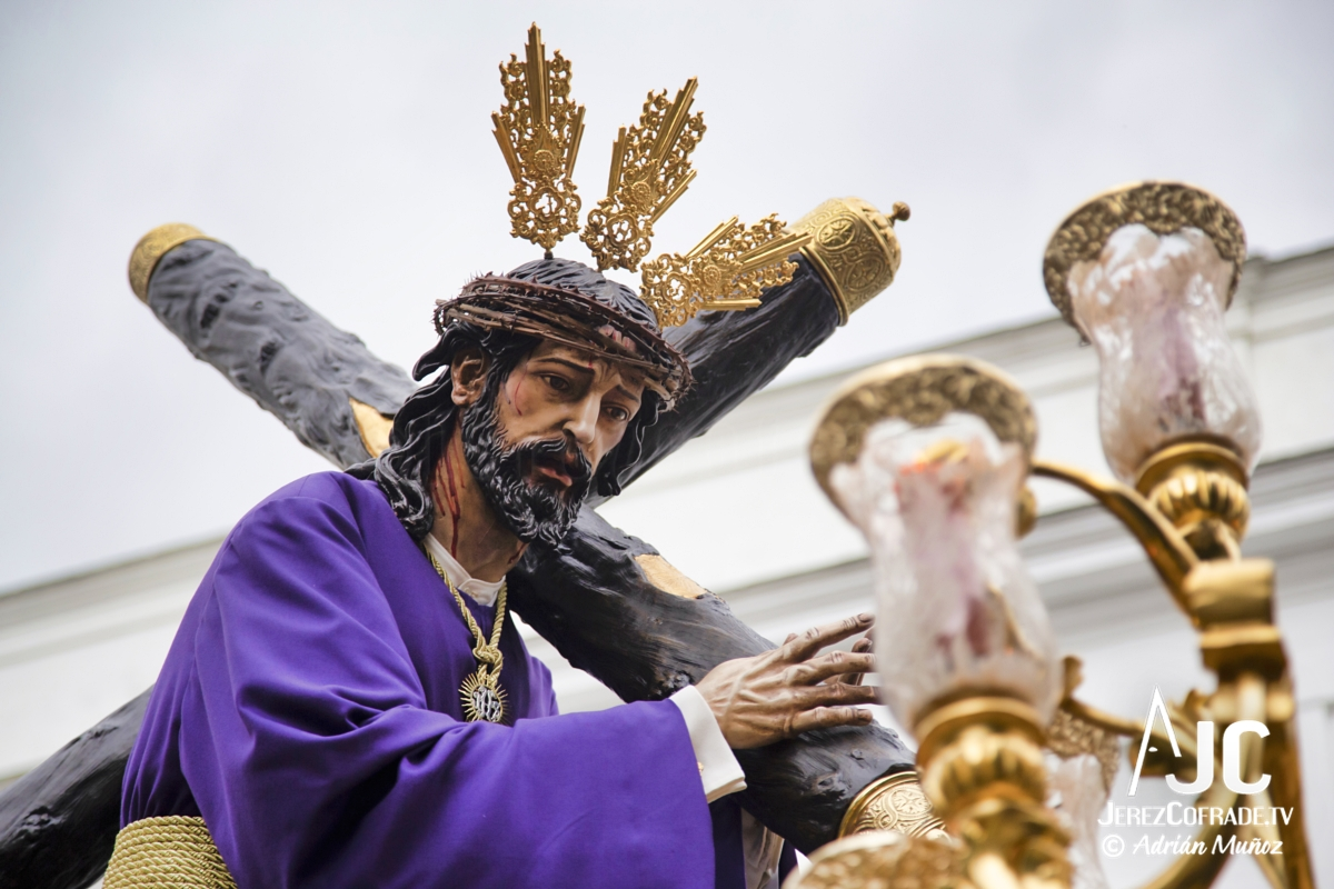 Cristo del Amaparo Consuelo del Peliron – Miercoles Santo Jerez 2019 (4)