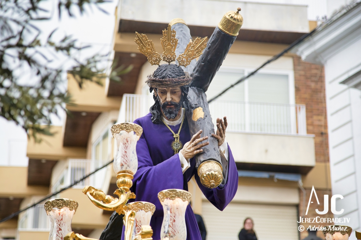 Cristo del Amaparo Consuelo del Peliron – Miercoles Santo Jerez 2019 (5)