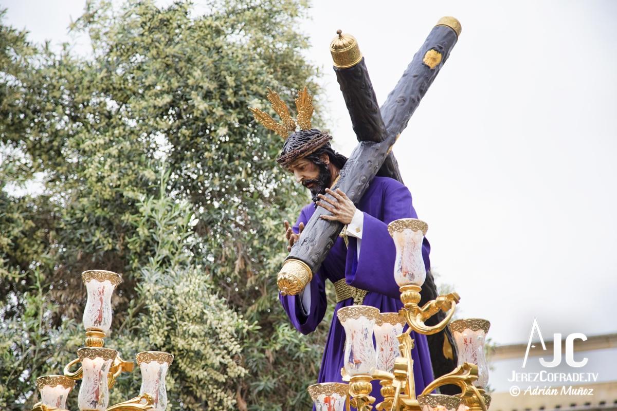 Cristo del Amaparo Consuelo del Peliron – Miercoles Santo Jerez 2019 (6)