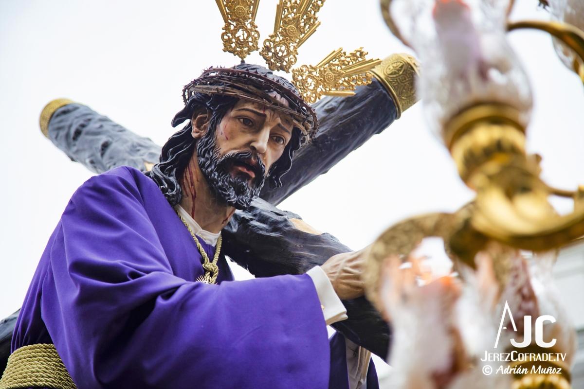 Cristo del Amaparo Consuelo del Peliron – Miercoles Santo Jerez 2019 (7)