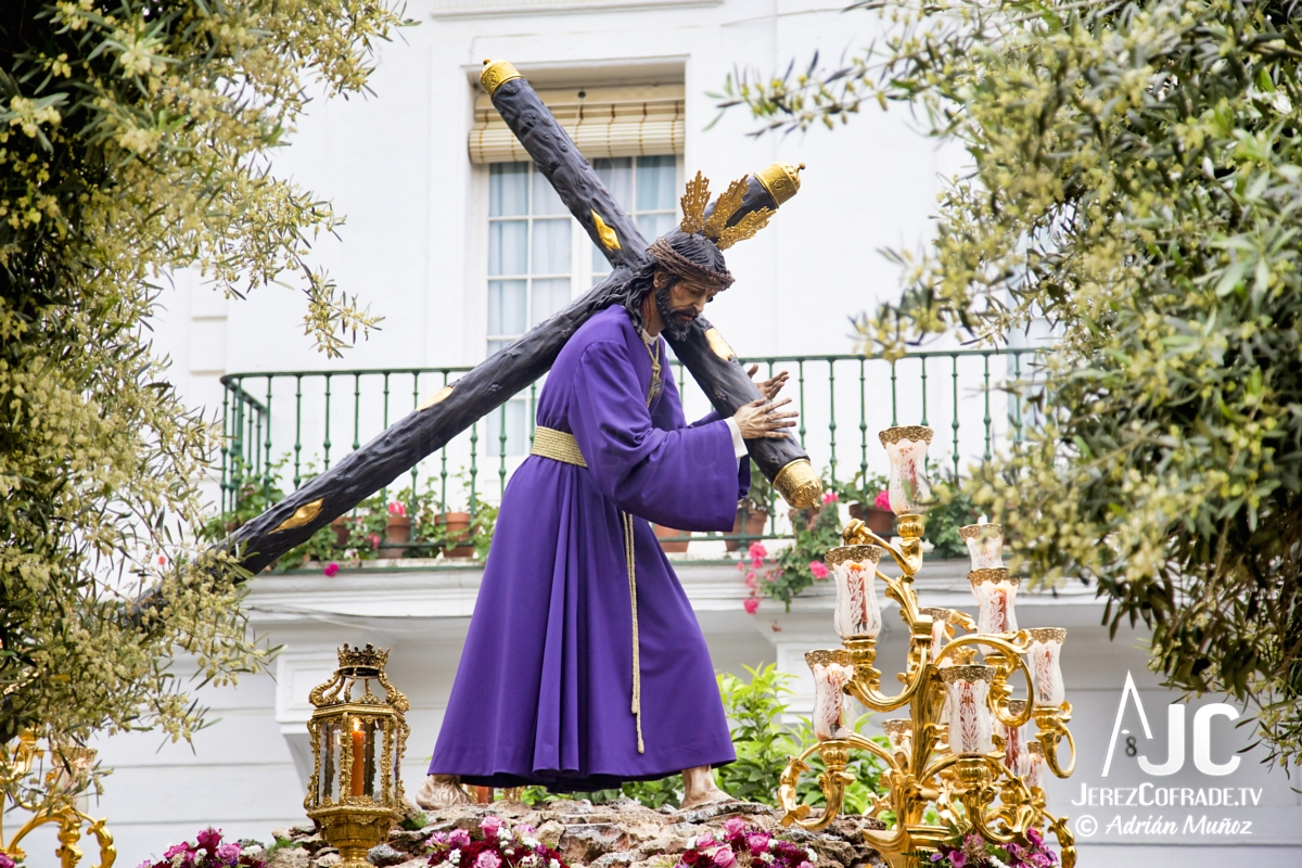 Cristo del Amaparo Consuelo del Peliron – Miercoles Santo Jerez 2019 (8)