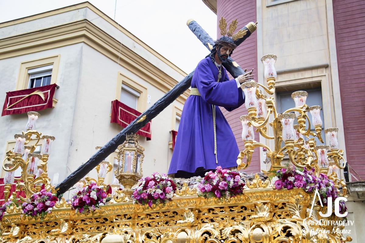 Cristo del Amaparo Consuelo del Peliron – Miercoles Santo Jerez 2019 (9)