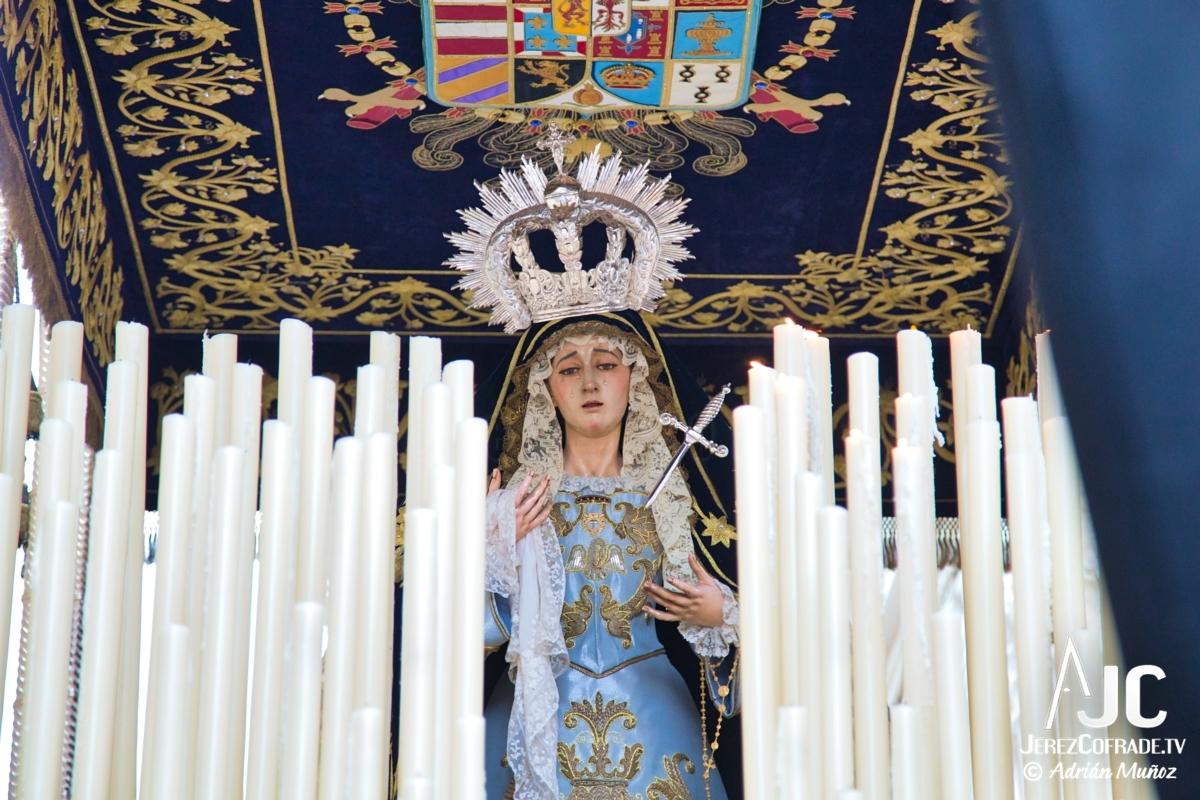 Nuestra Sra de las Lagrimas – Jueves Santo Jerez 2019 (2)