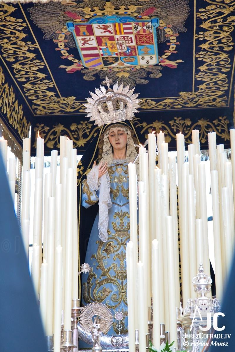 Nuestra Sra de las Lagrimas – Jueves Santo Jerez 2019 (3)