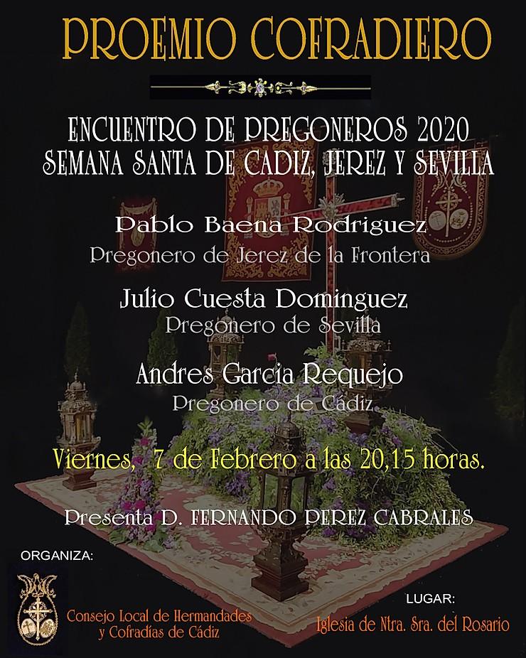 Proemio Cofrade 2020