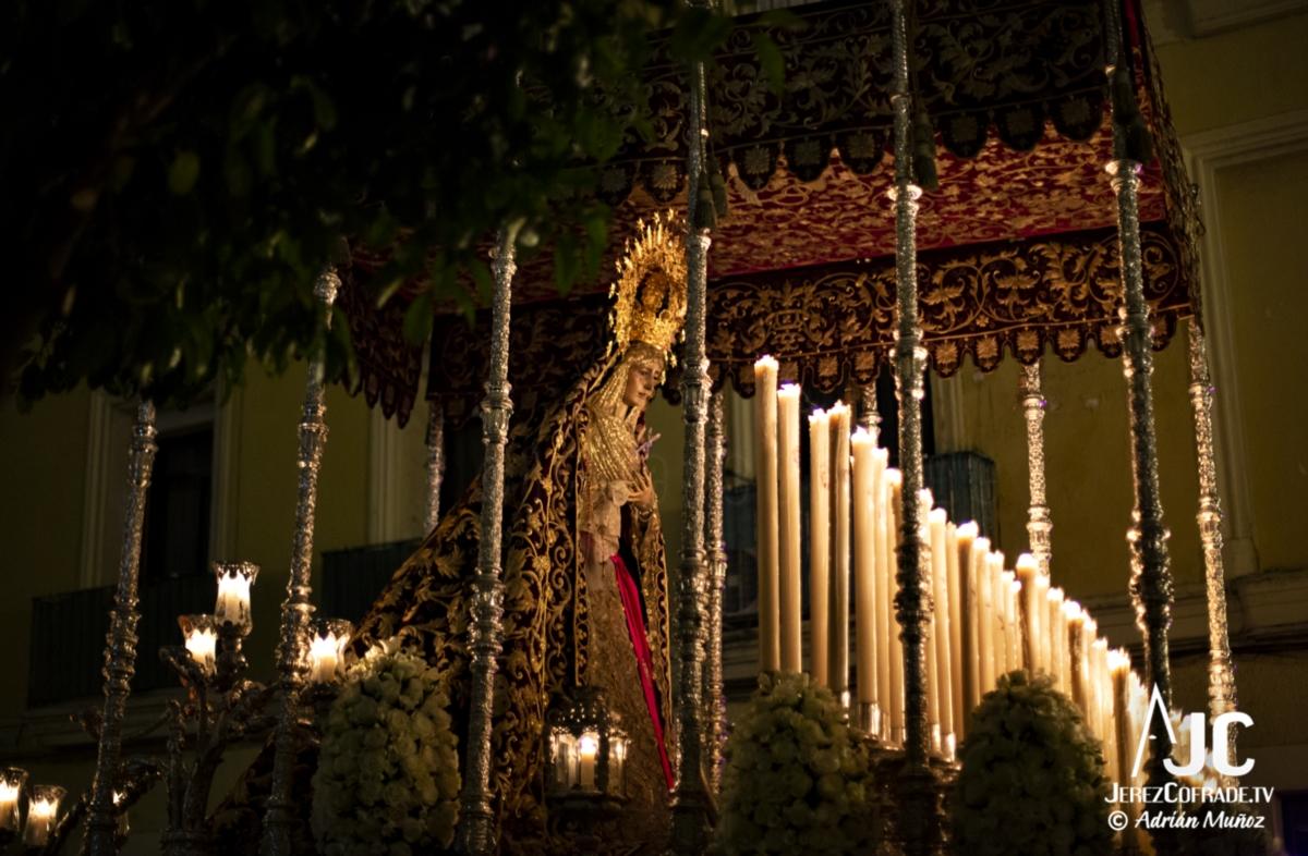 Maria Santisima de la Encarnacion – Noche de Jesús Jerez 2019 (1)
