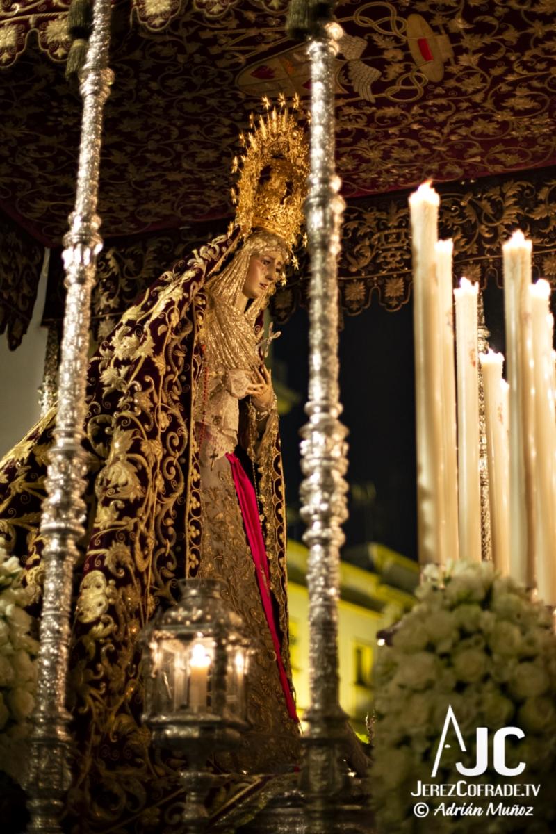Maria Santisima de la Encarnacion – Noche de Jesús Jerez 2019 (3)