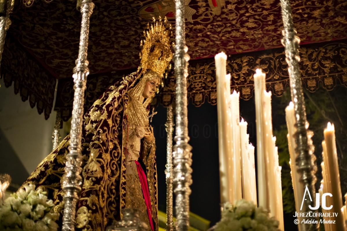 Maria Santisima de la Encarnacion – Noche de Jesús Jerez 2019 (4)