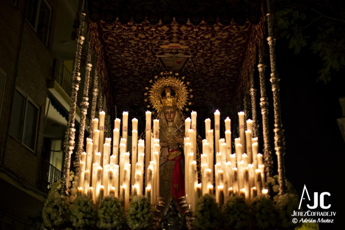 Maria Santisima de la Encarnacion – Noche de Jesús Jerez 2019 (5)