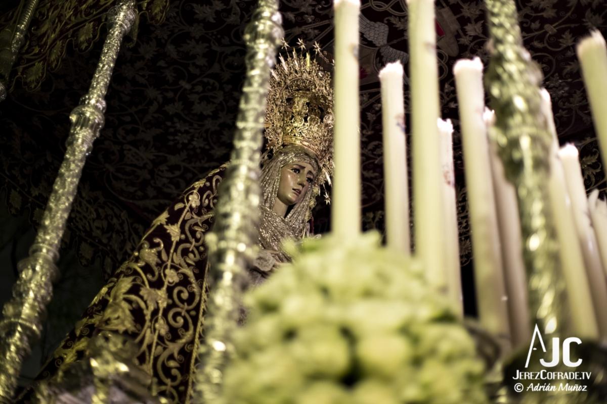 Maria Santisima de la Encarnacion – Noche de Jesús Jerez 2019 (6)