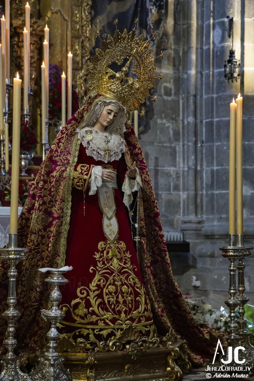 Ntra. Sra. del Socorro – Segundo Domingo de Cuaresma Jerez 2020 (2)