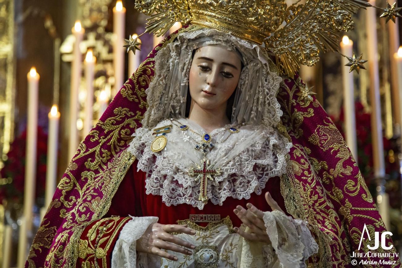 Ntra. Sra. del Socorro – Segundo Domingo de Cuaresma Jerez 2020 (3)