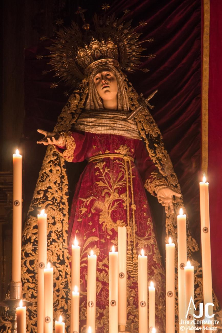 A la luz de las velas – Mayor Dolor 2014 (2)