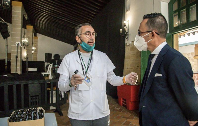Dionisio Díaz y Tomás Sampalo