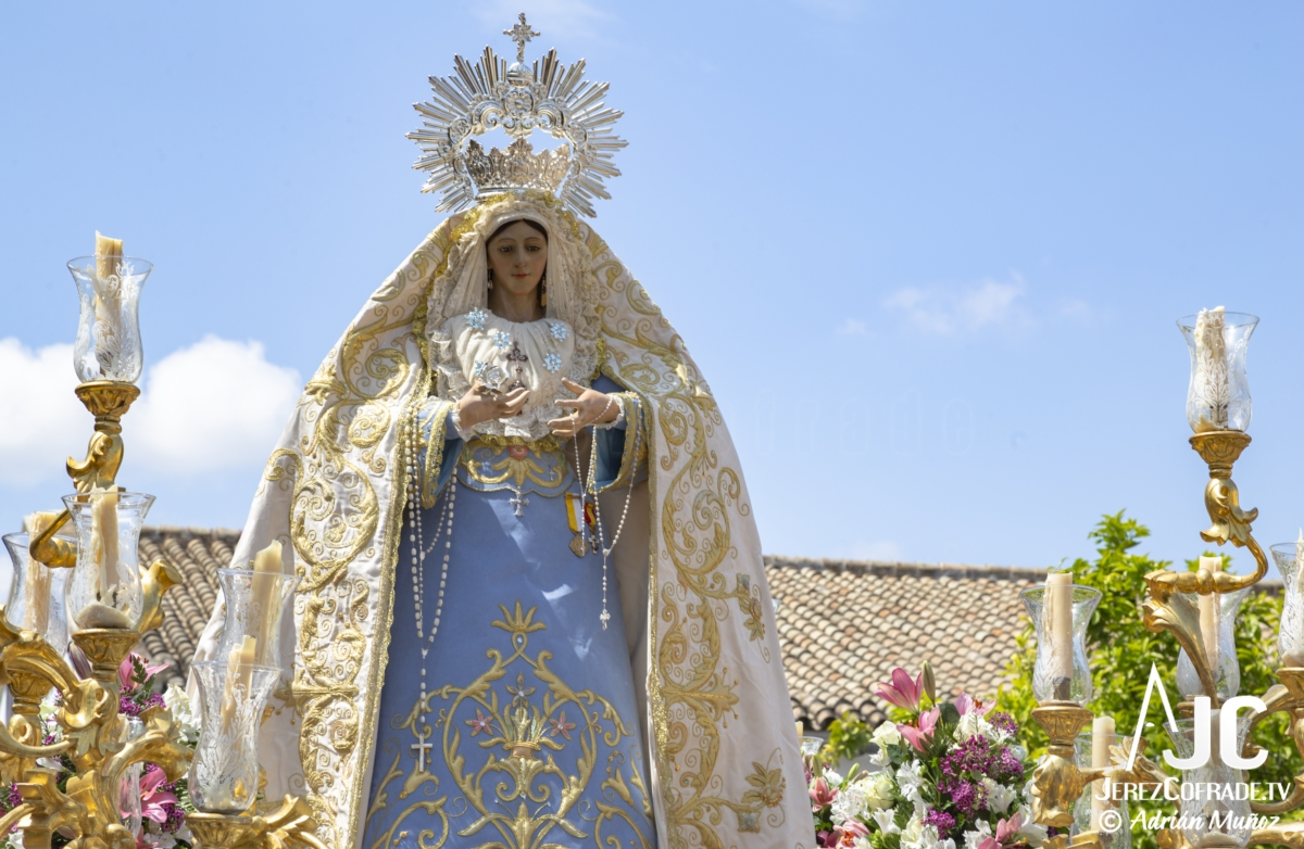 Virgen de la Luz – Domingo de Resurreccion Jerez 2019 (1)