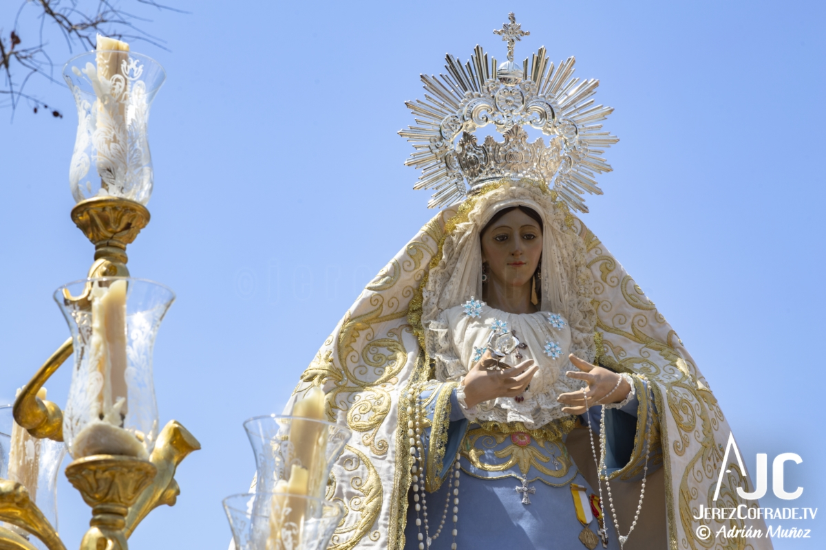 Virgen de la Luz – Domingo de Resurreccion Jerez 2019 (2)