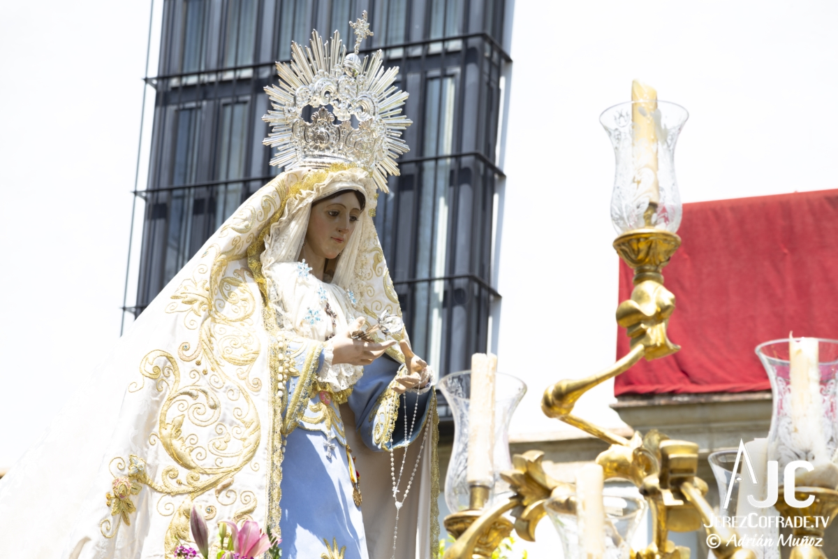 Virgen de la Luz – Domingo de Resurreccion Jerez 2019 (5)