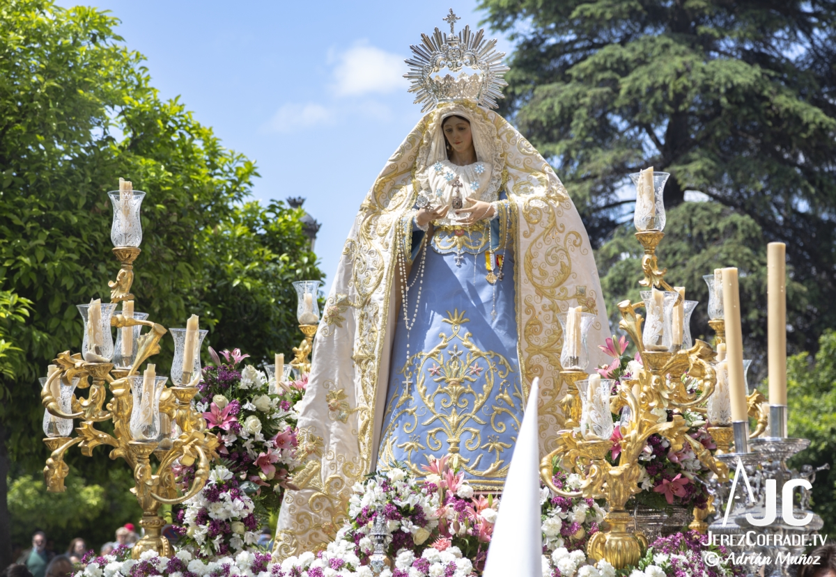 Virgen de la Luz – Domingo de Resurreccion Jerez 2019 (6)