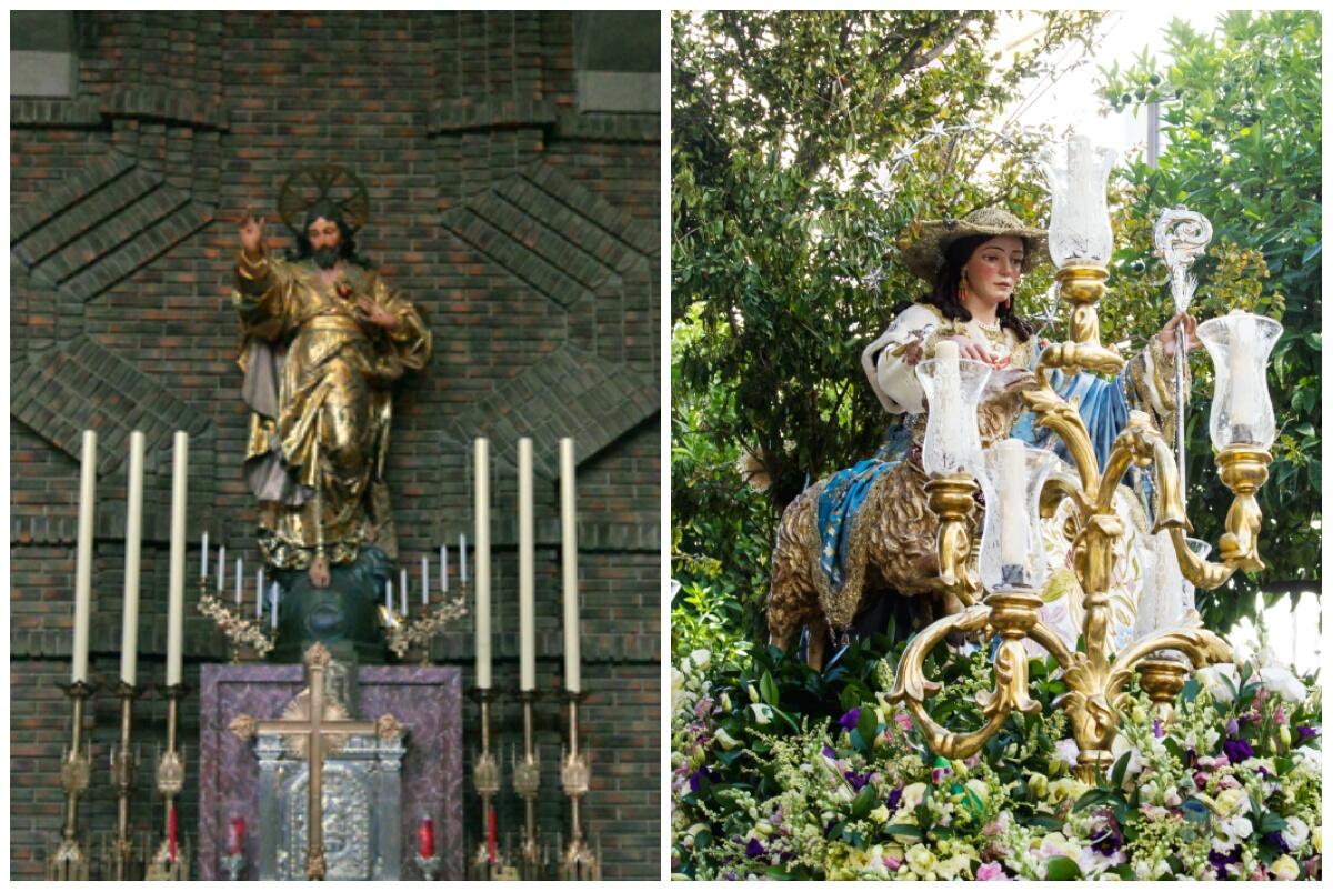collage cultos sgdo corazon y divina pastora sdi