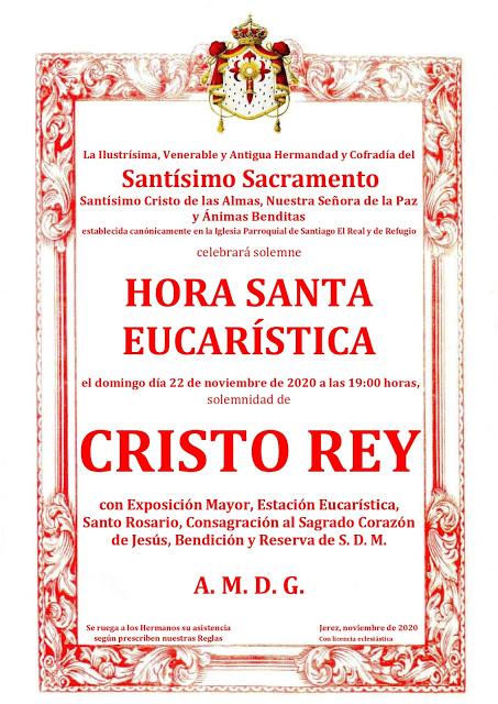 Cristo Rey – Sacramental de Santiago