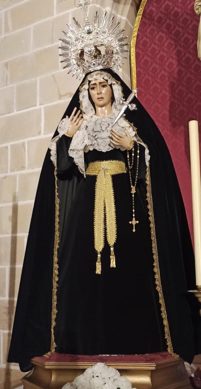 María Santísima del Dulce Nombre de luto