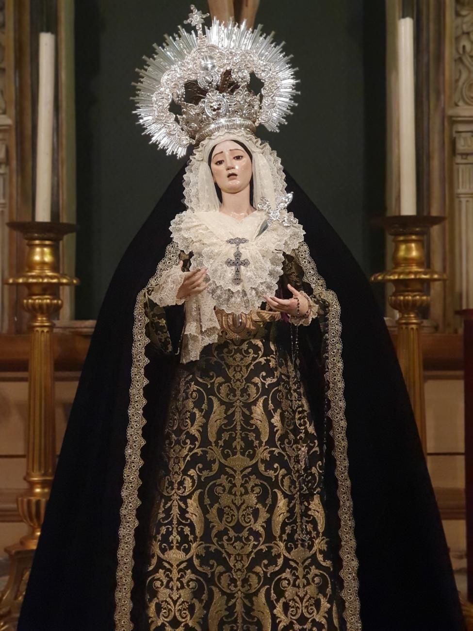María Santísima del Perpetuo Socorro de luto
