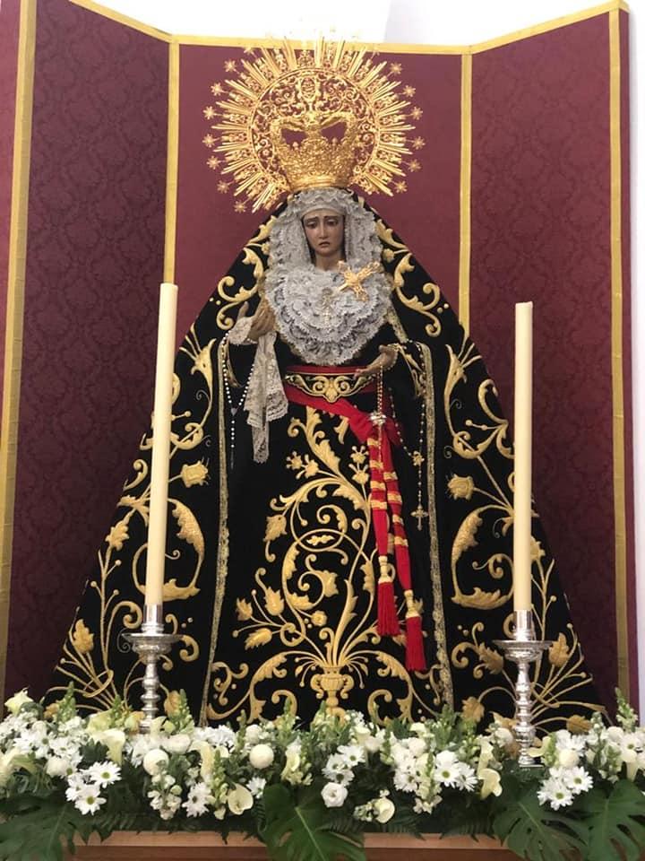 María Stma. del Valle de luto