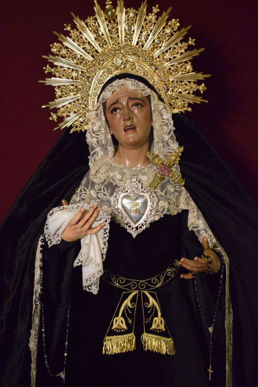 Penas y Lágrimas de María Stma. de luto