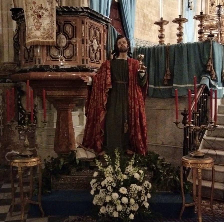 San Juan Evangelista – Hermandad de la Sagrada Cena