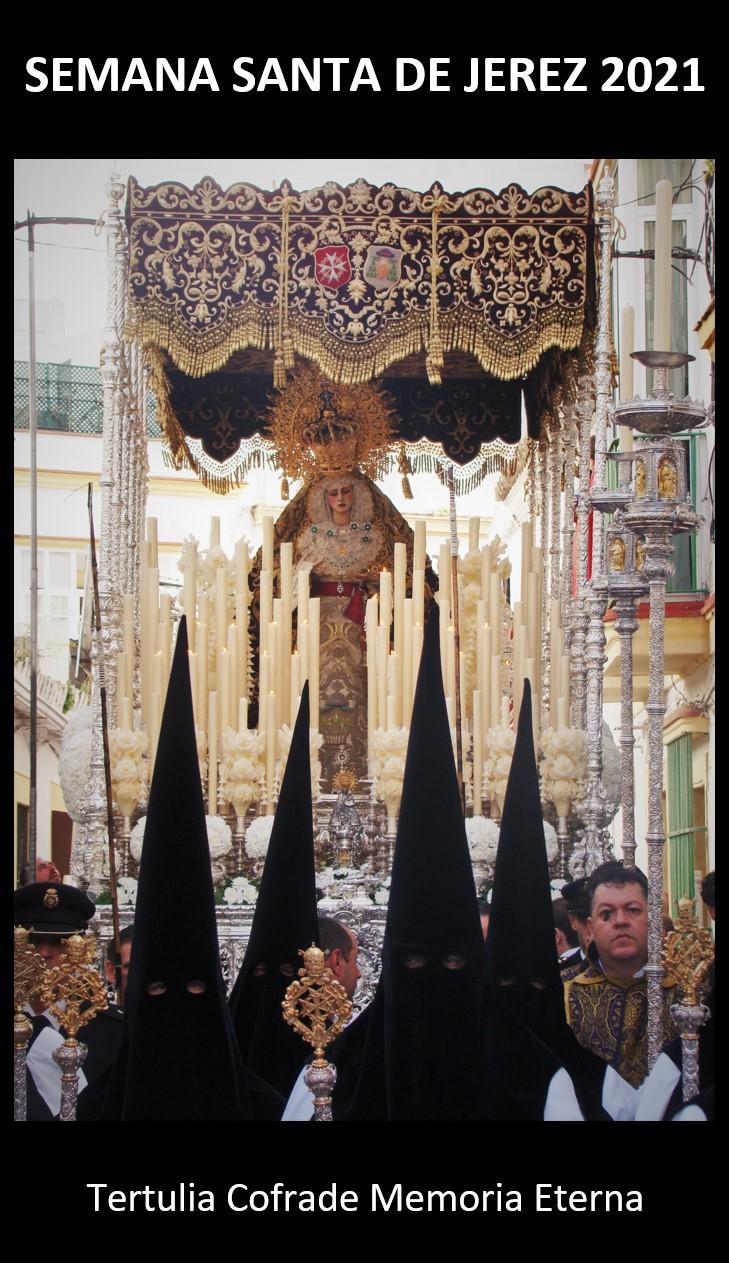 Cartel Semana Santa Jerez 2021 Memoria Eterna