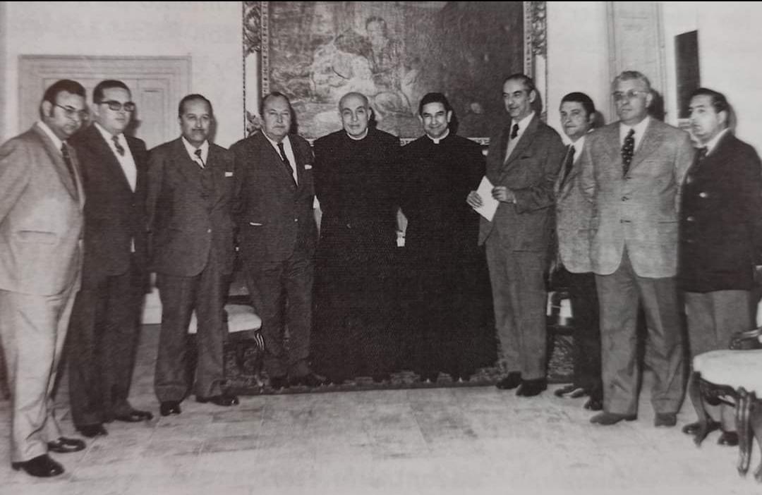 Consejo Directivo de la Unión de Hermandades – 1973-1978