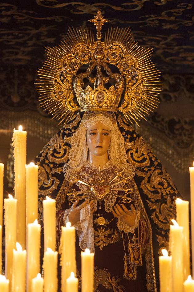 Virgen de los Dolores Lebrija