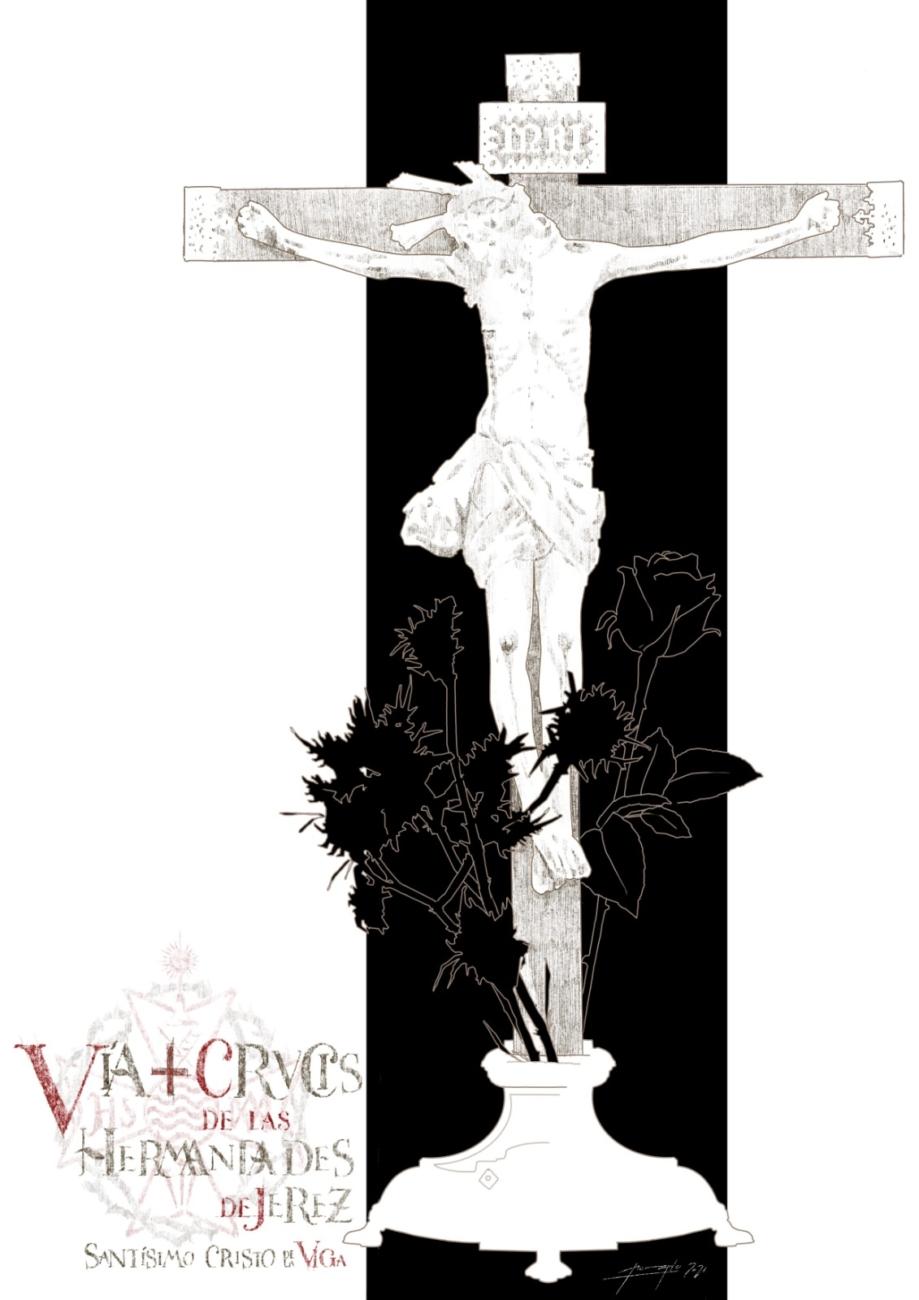 Portada libreto Vía Crucis 2021
