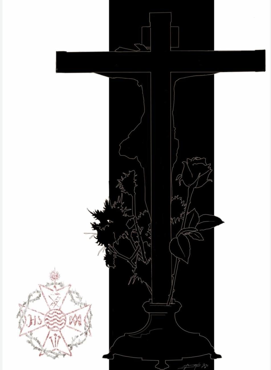 Contraportada libreto Vía Crucis 2021