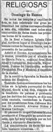 El Guadalete – 22 marzo 1921