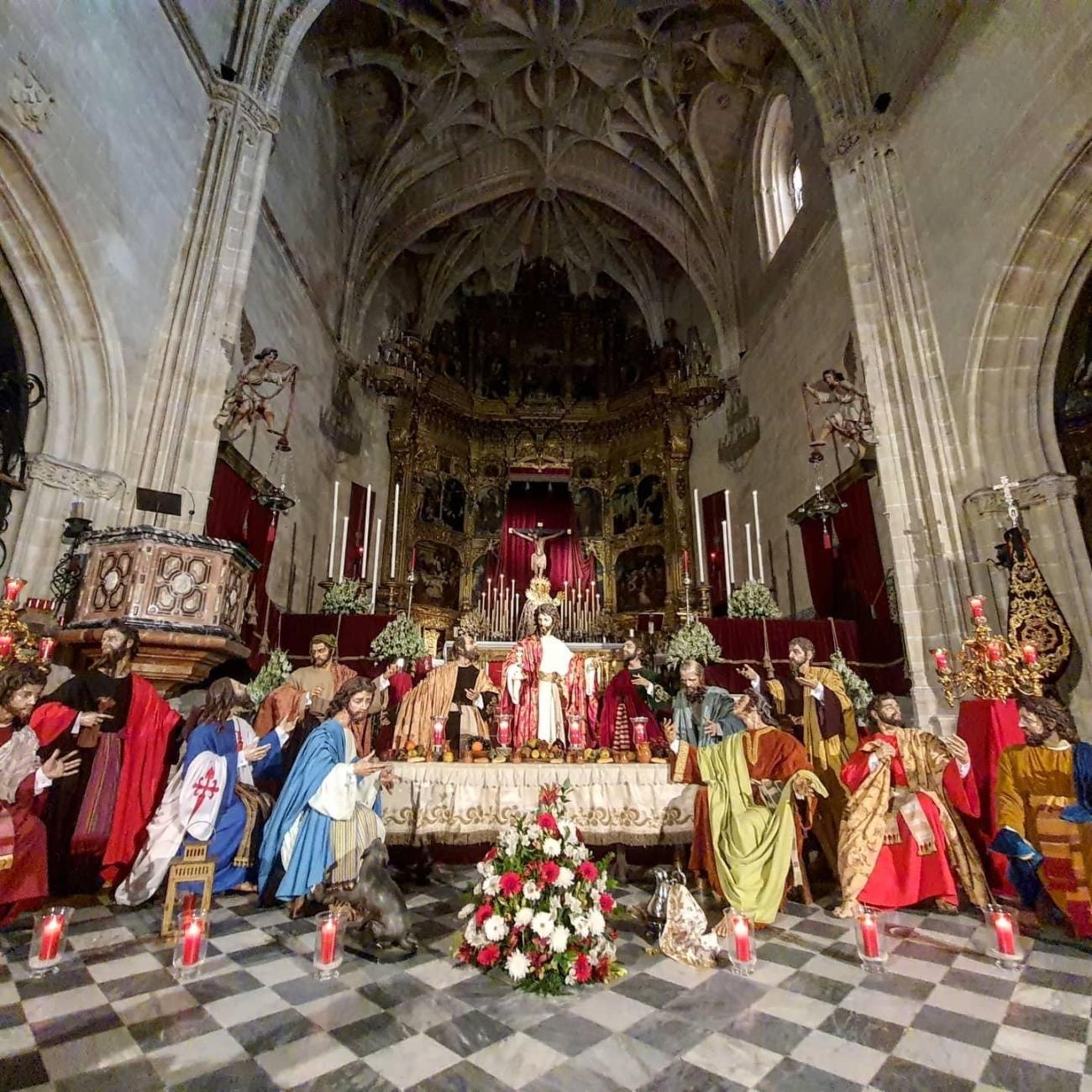 Apostolado – Hermandad – Sagrada – Cena
