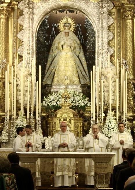 monseñor Saiz Meneses – Basílica de la Macarena