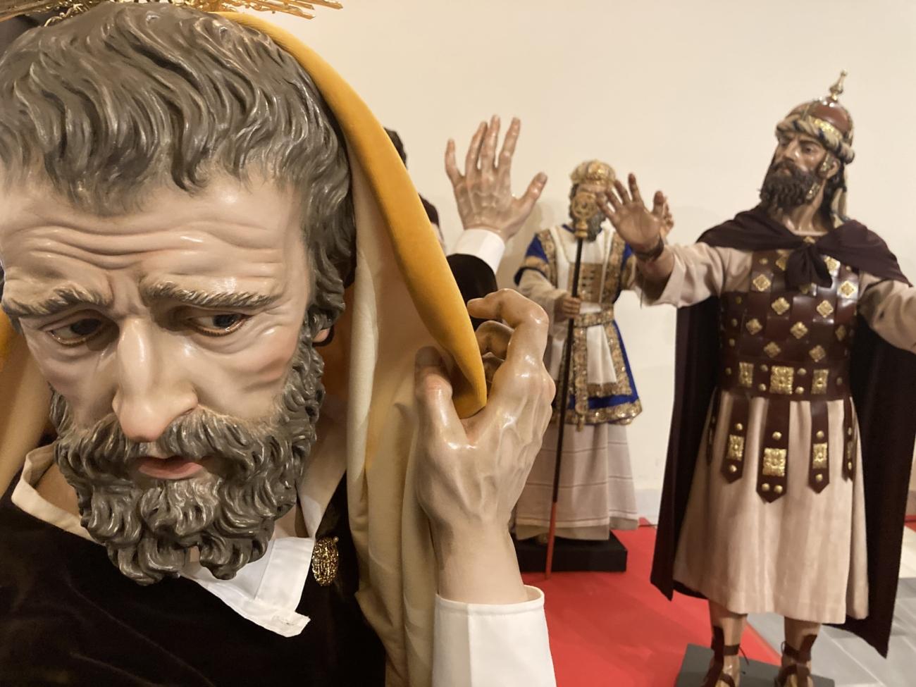 conjunto escultórico Hermandad Pasión Jerez