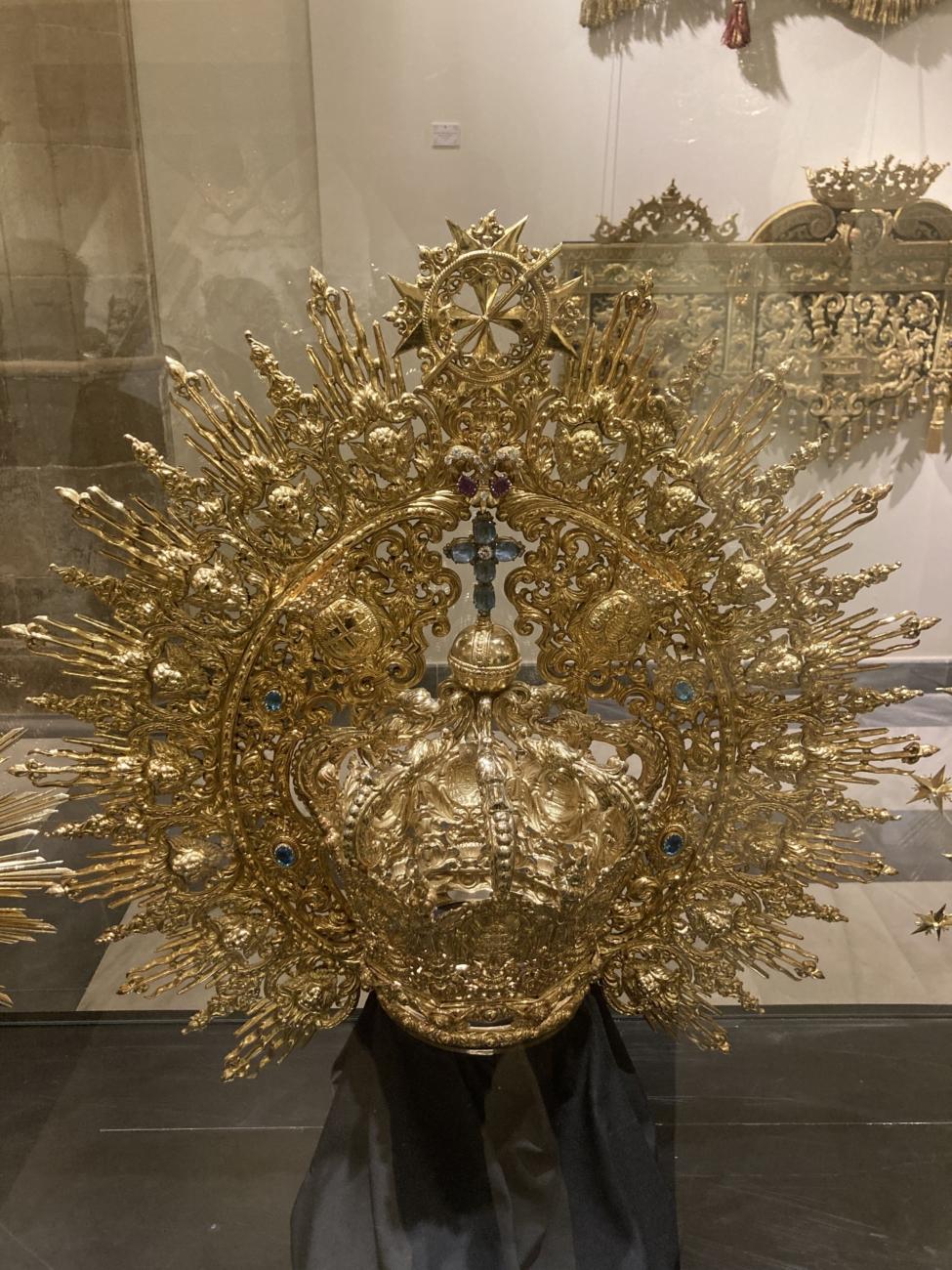 Corona de salida – Mª Stma. de la Paz en su Mayor Aflicción