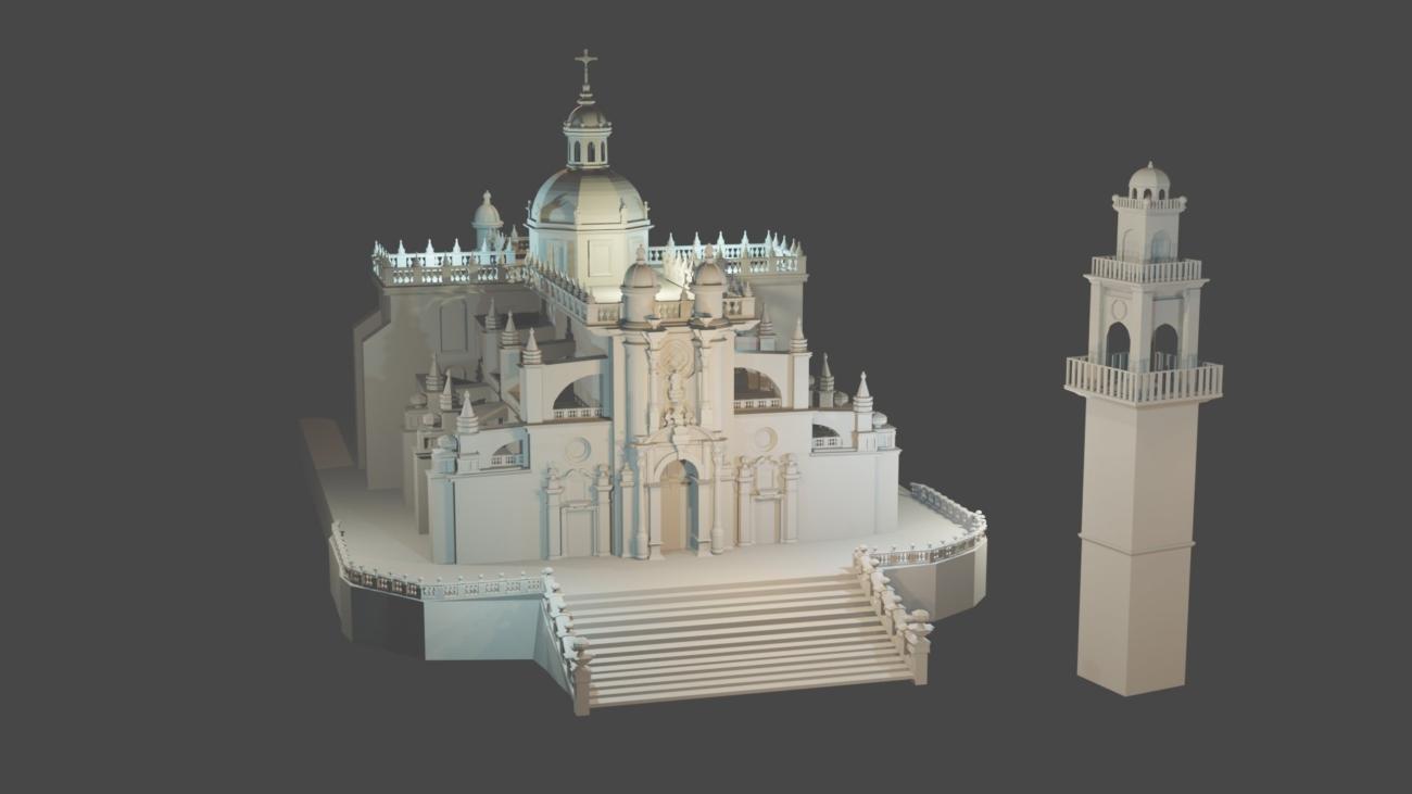 Catedral de Jerez – 3D